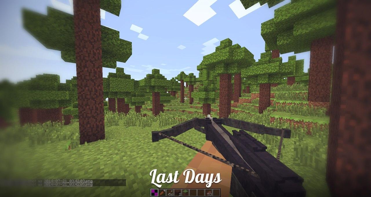 скачать мод last days для minecraft 1.7.10