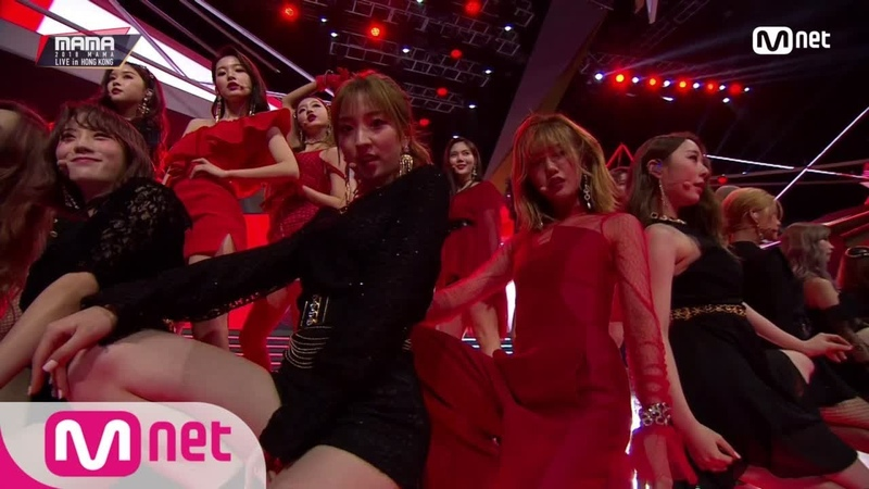 181214 OH MY GIRL WJSN_Girls On Top(MAMA Ver.)│2018 MAMA in HONG KONG 181214