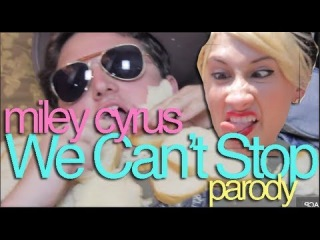 Miley Cyrus - We Can't Stop Official Music Video Parody (Perez Hilton Cover Competition)