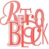 RetroBlock - светящиеся ретро буквы из металла