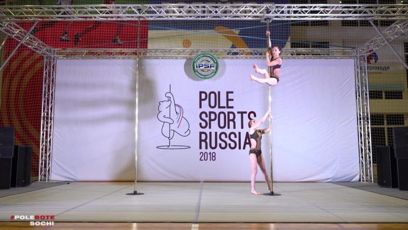 POLE SPORTS RUSSIA 2018   Горбунова-Козлова