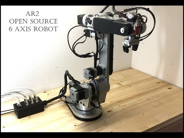 AR2 6 Axis Robot Overview