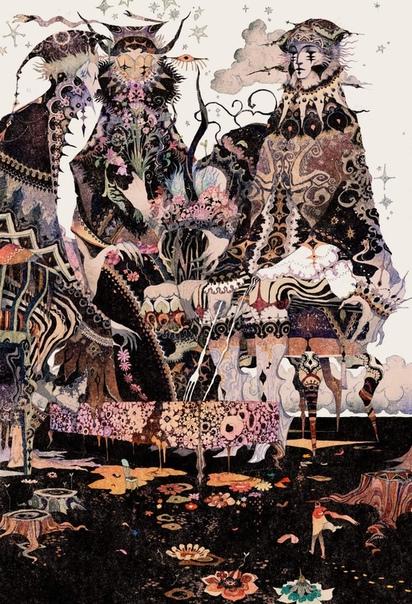 Акия Кагейчи - японский иллюстратор.