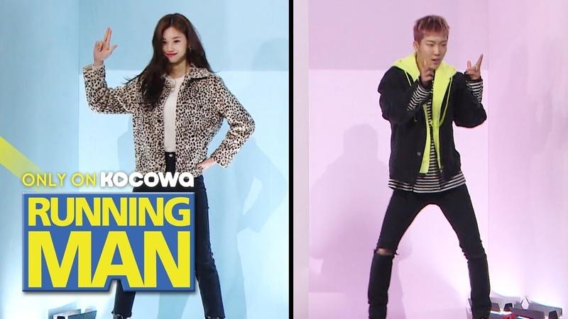 Seung Hoon's Ddu-Du Ddu-Du vs Do Yeon's Gashina Dance Cover [Running Man Ep 434]