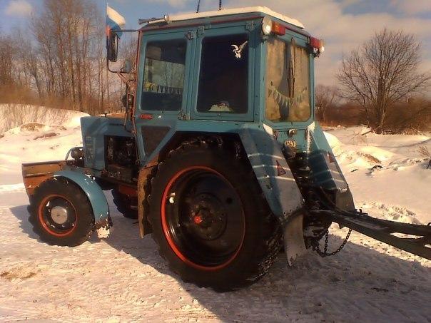 История тракторов МТЗ - ЯПлакалъ