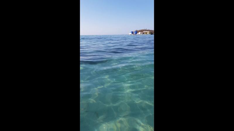 Нисси пляж июль 2018 Кипр
