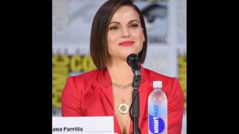 Lana Parrilla vine