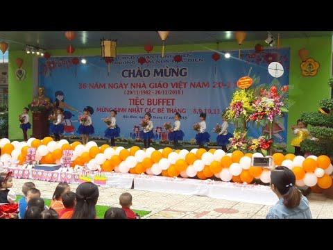 Ca nhạc thiếu nhi Chào Mừng 🎕 Ngày Nhà Giáo Việt Nam 20/11