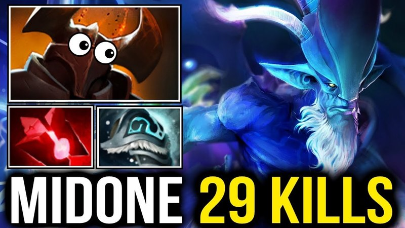 MidOne Leshrac Carry destroyed Chaos Knight Illusion Army Easily Dota2