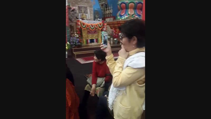 подготовка к проведению Пуджи Шаджин ламе Калмыкии
