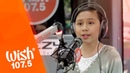 Chacha Cañete covers Fight Song Rachel Platten LIVE on Wish 107.5 Bus