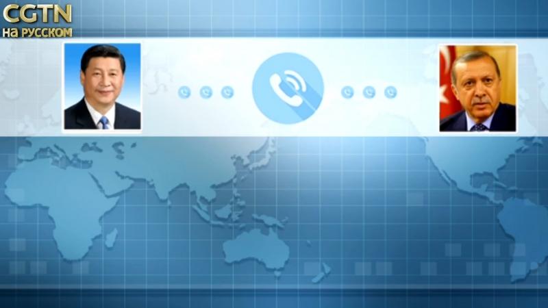 Си Цзиньпин провел телефонный разговор с Реджепом Эрдоганом