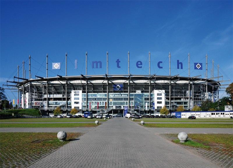 Стадион Имтех Арена (Imtech Arena). Гамбург, Германия.