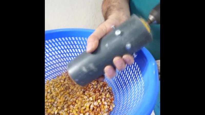 Чистим кукурузу легко и просто