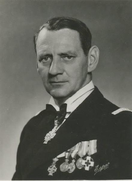 Датский король Фредерик IX (с 1947 по 1972