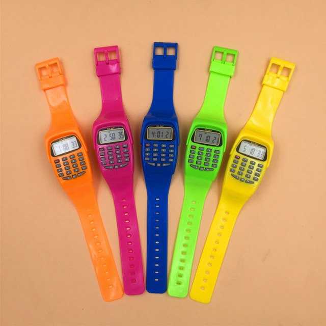 Часы с калькулятором 11