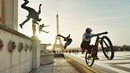 Bike Vs Parkour Jumping from the Highest Roofs in London to Paris! In 8K