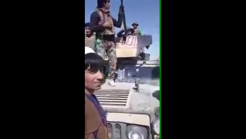 Breaking - 6 ANA soldiers joined Taliban with Armored Humvee in Ghazni Province. - This is before end of Taliban - Govt Ceasefir