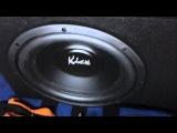 KICX STC 300 (сабвуфер своими руками)