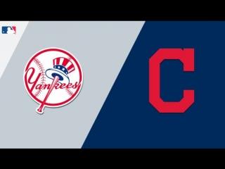 AL /  / NY Yankees @ CLE Indians (4/4)