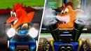 Crash Team Racing Nitro-Fueled - Trailer Comparison (Original vs Nitro-Fueled)