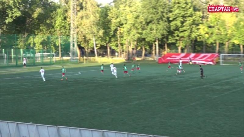 9 тур ЛПМ 2018 Локомотив 2 2004 - Спартак 2004 обзор 25.08.18