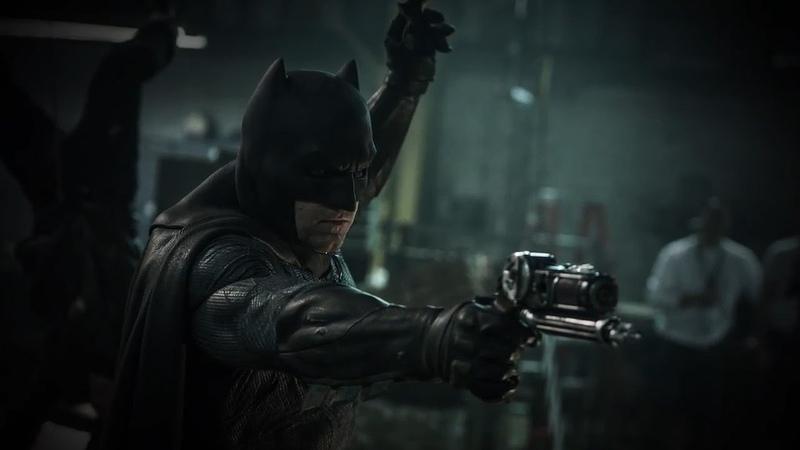 Бэтмен спасает Марту | Бэтмен против Супермена: На заре справедливости | 2016