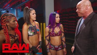 #SBMKV_Video | Bayley faces repercussions for entering the Six-Woman Tag Team Match: Raw, June 4, 2018