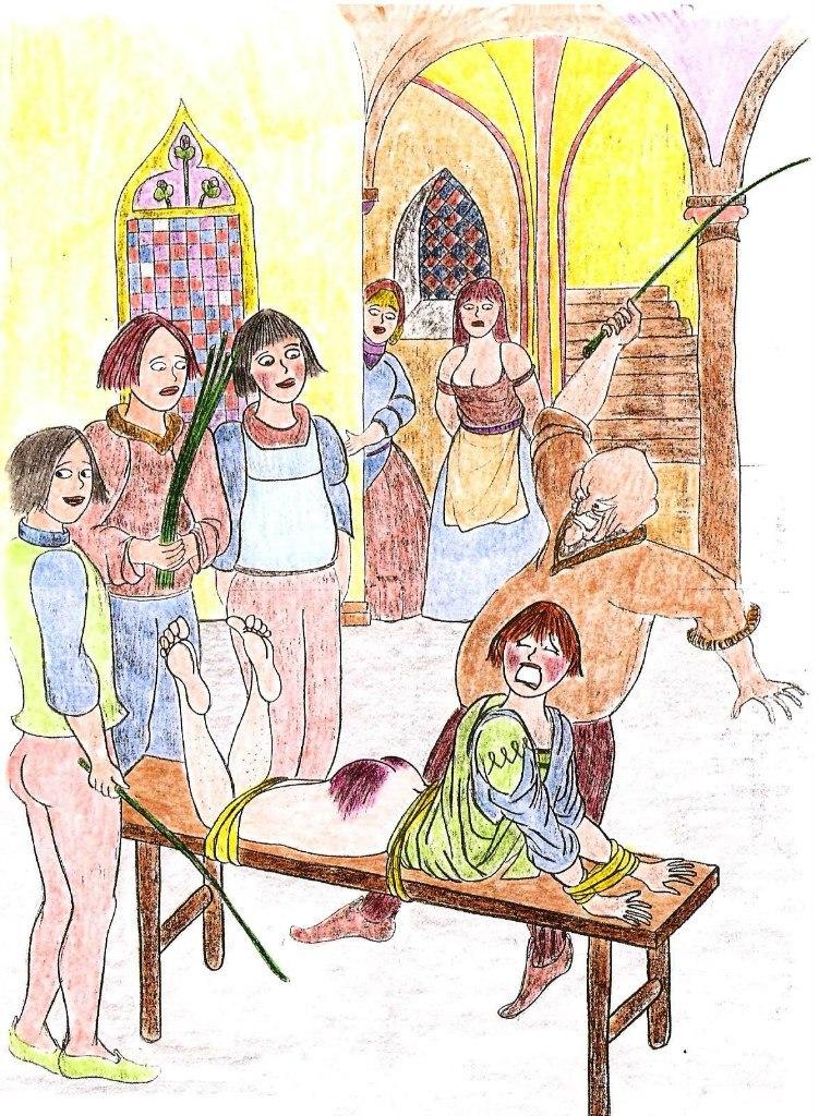 рисунки порка женщин