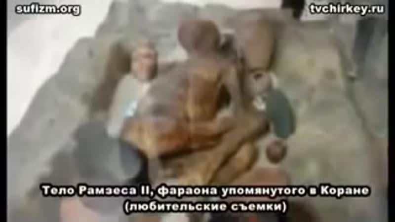 Знамения аллаха тело фараона ИиМ !.mp4