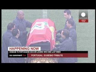 Le Portugal rend un ultime hommage à l'icône Eusebio