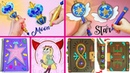5 DIYS of STAR VS THE FORCES OF EVIL Wands Notebook Magic Instruction Book etc