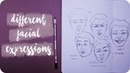 How To Draw Different Facial Expressions