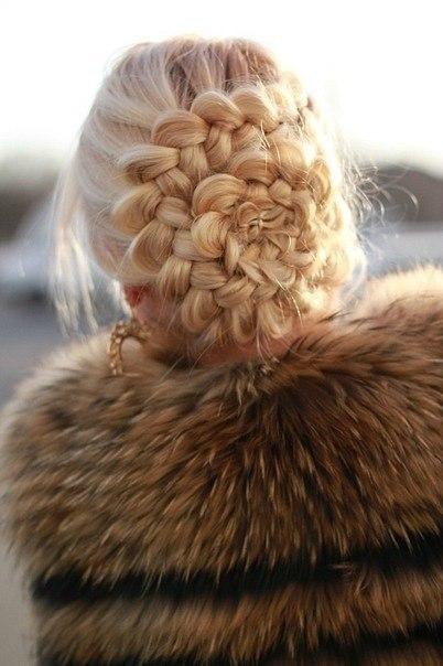 Красивые прически из французких кос