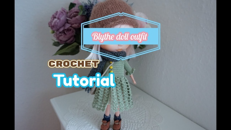 How to crochet doll clothes blythe doll clothes