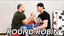ROUND ROBIN IN ARM WRESTLING armsport armwrestling roundrobin