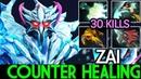 Zai [Ancient Apparition] Smart Counter Healing Carry Build 30 Kills 7.19 Dota 2