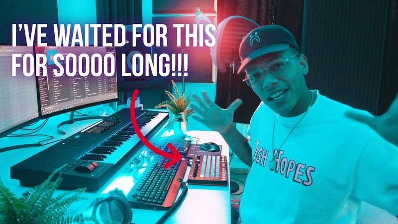 MAKING A BEAT WITH THE NEW AKAI FIRE IN FL STUDIO 20 (Akai Fire Review)
