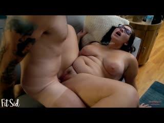 Трахнул толстую подругу с красивым лицом на столе, sex porn fat ass bbw young girl milf big tit home fuck hd cum (hot&horny)