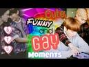 BTS   Cute, Funny and Gay Moments \\Bangtan Boys//