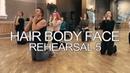 Hair Body Face rehearsal 5