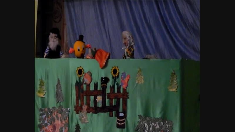 Кукольный спектакль в Колоске