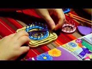 Плетение цветов и мотивов на луме