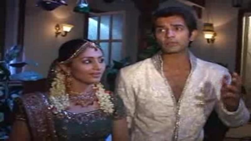 Barun Sobti Ankita Sharma Karva Chauth on the set of Baat Hamari Pakki Hai 27 Oct 2010