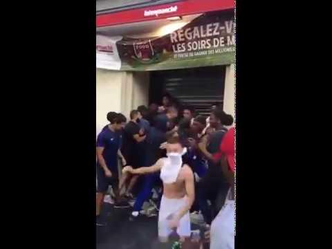 Plünderungen in Paris nach Sieg von Frankreich bei der WM 2018