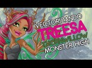 Vectorizando a Treesa Thornwillow de Monster High