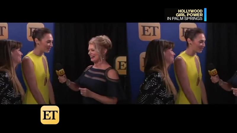 2018 | Интервью для портала «ET» в рамках кинофестиваля в Палм-Спрингс (2 января)