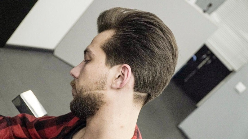 Самая популярная мужская стрижка 2018 /Men's haircut /GRADUATION HAIRCUT 2018