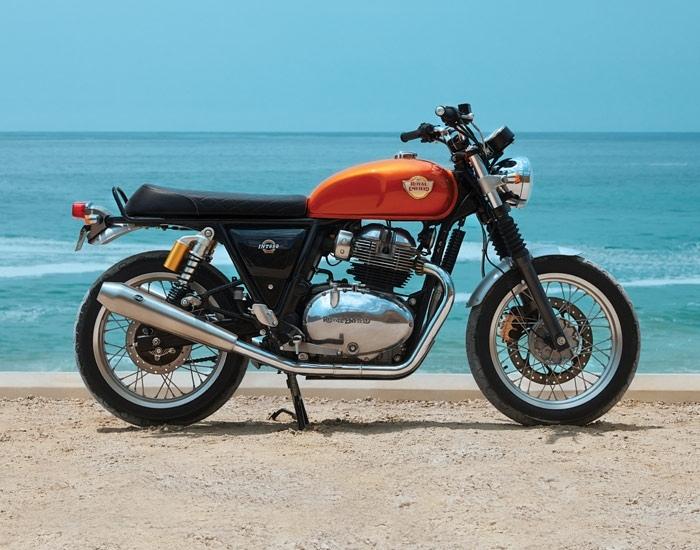 Royal Enfield 650 - самые продаваемые мотоциклы в Великобриатнии в июне
