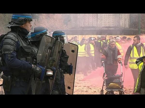 Manifestation des gilets jaunes ce 8 décembre à Grenoble